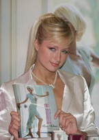 Paris Hilton presenting her first fragrance Paris Hilton
