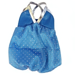 Sparkle Bubble LilyDress - Blue