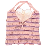 Ruffled Tank - Pink/Purple