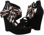 Bow (Black Suede)