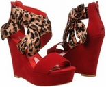 Bow (Red Suede)