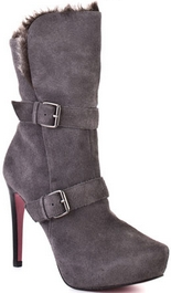 Candace (Dark Grey Suede)