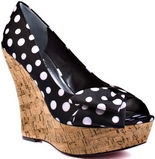 Shelly (Black Polka Dot)
