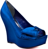 Shelly (Royal Blue Satin)