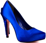 Casey (Royal Blue Satin)