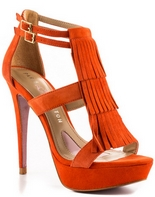 Tae (Orange Suede)