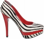 Tyra (Black / White Zebra)