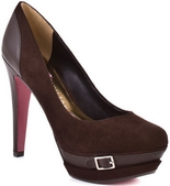 Yolanda (Brown Suede)