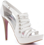Millie (White Leather)