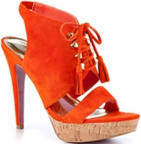 Miranda (Orange Suede)