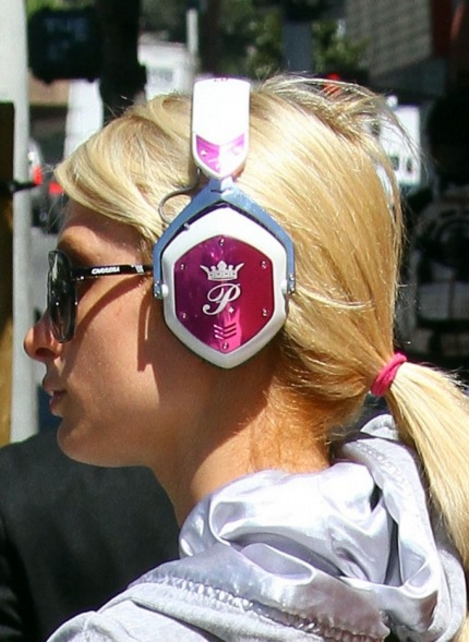 paris hilton headphones