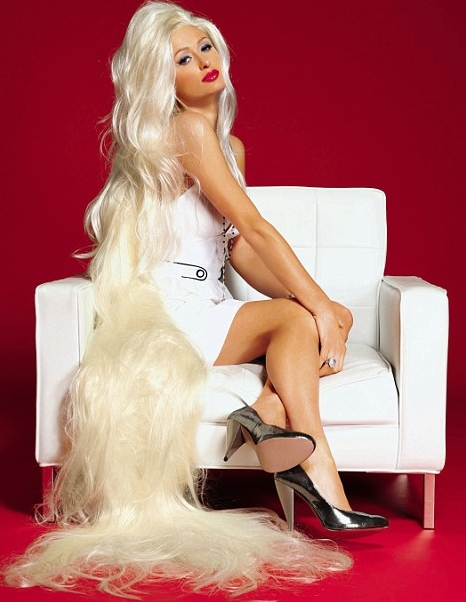 Paris Hilton's photoshoot Heat